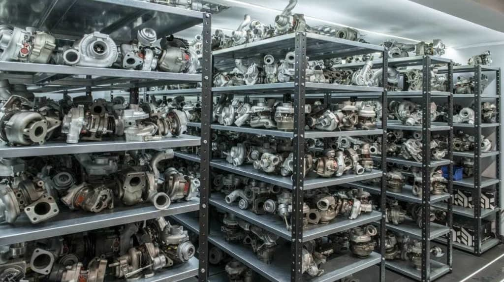 turbosprężarki - półki